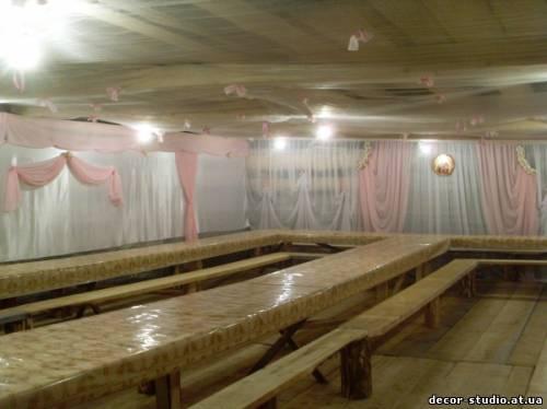 Рожево-біле весілля ніжність